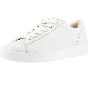 Vionic Women White Syra lace Leather Sneakers Sz 9